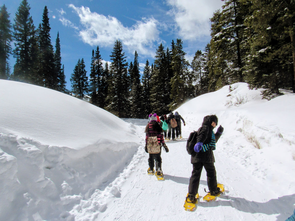 summit co snowshoe hikes